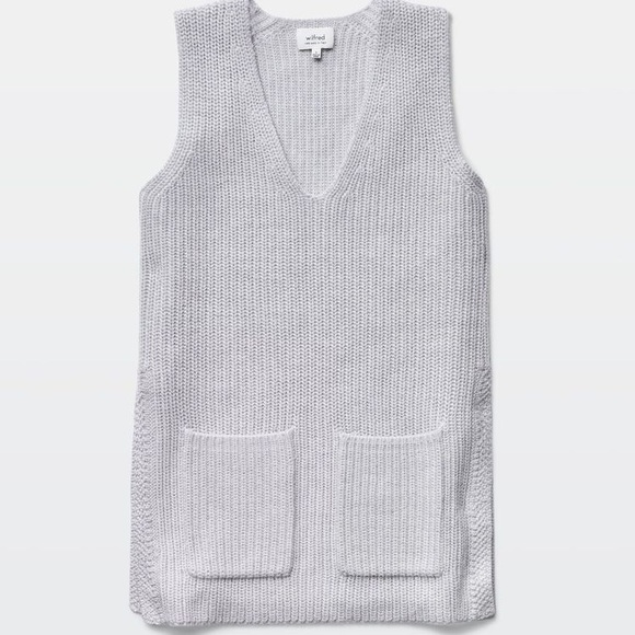 ❤️❤️Wilfred Sleeveless Wool Sweater